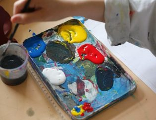 peinture handicap art for all